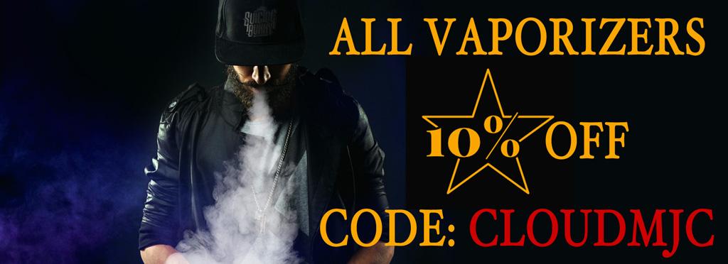Vapes - 10% Off - Coupon: CLOUDMJC